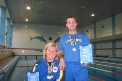 Міжнародні ветеранські змагання з плавання
